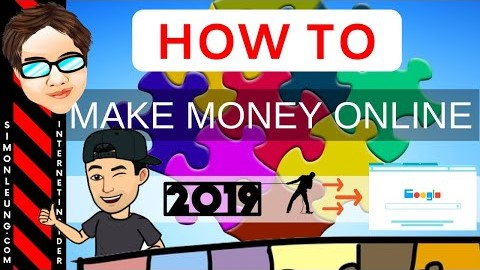 Best Ways To Make Money Online 2019 (Top 5 Tips)