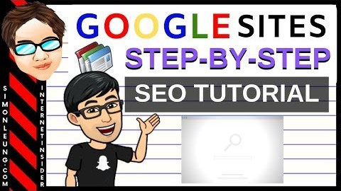 How To Create A Website On Google Sites (One Page Site Tutorial)