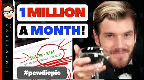 How To Make MILLIONS OF DOLLARS On YouTube (CASE STUDY: PewDiePie)
