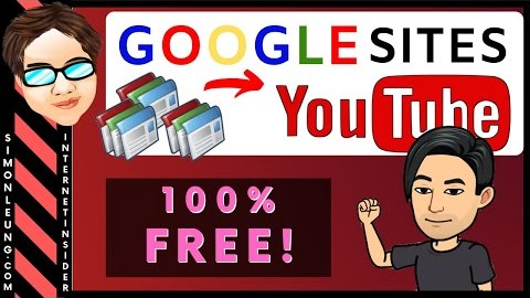 How To Promote YouTube Channel Videos With Google Sites