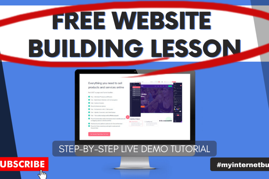 how to build a free website that makes money without any coding free website building course online