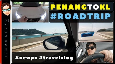 malaysia travel vlog a day in the life penang to kuala lumpur kl road trip buy new pc at lowyat simon leung