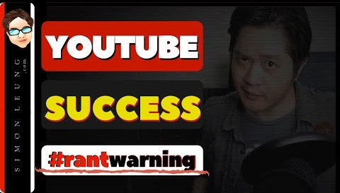 what makes a successful youtuber warning rant in progress