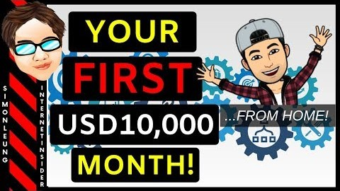 How To Make $10,000 A Month Online From Home (Earn Your First $10k Now!)